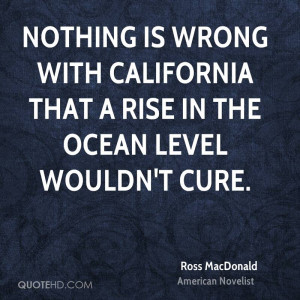 Ross MacDonald Quotes