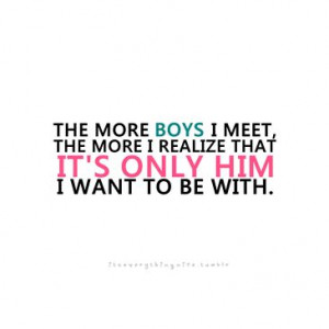 It's only him I want to be with | FOLLOW BEST LOVE... - Best Tumblr ...
