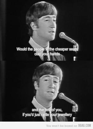 John Lennon Funny Moment by BeatlesBug