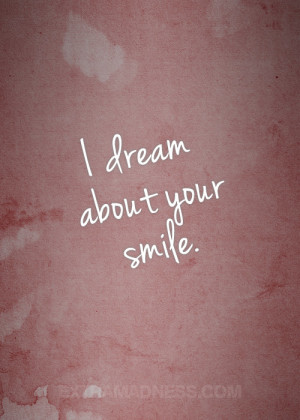 dream about your smile