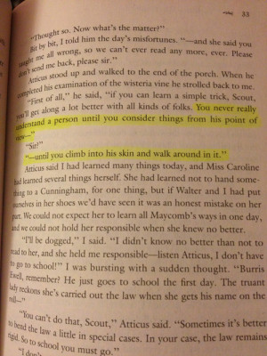To Kill A Mockingbird Quotes With Page Number