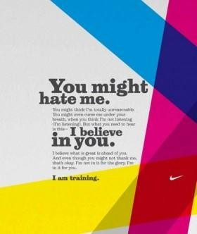You might hate me running quote