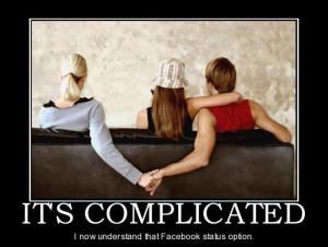 Facebook Status – It's Complicated