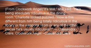 Top Quotes About Clockwork Angel