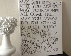 16x20 Quote Canvas -