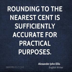 Alexander John Ellis Finance Quotes