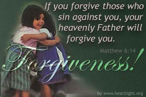 If you forgive anyone's sins, they are forgiven. If you do not ...