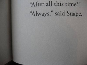 Harry potter love quotes books