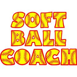 neon_red_yellow_softball_coach_greeting_card.jpg?height=250&width=250 ...