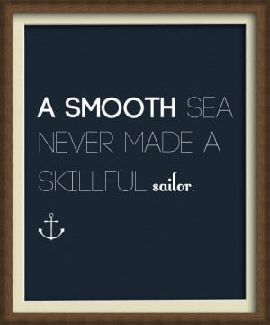 smooth sea english life quote sailor image 39272 on