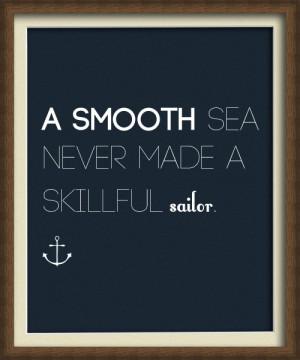 smooth sea english life quote sailor image 39272 on