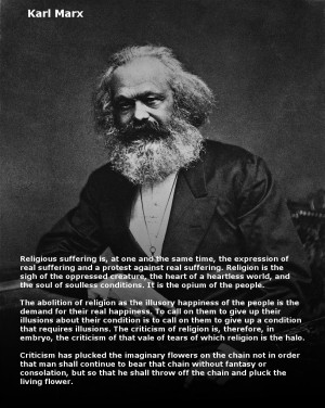 Karl Marx Famous Quotes Karl marx quotes on religion