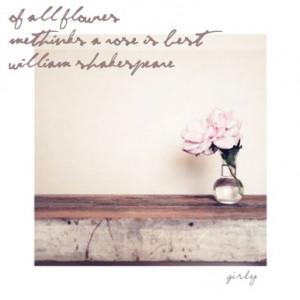 Rose ~ Shakespeare