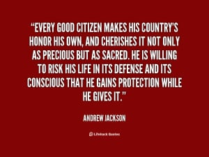 Good Citizen quote #1