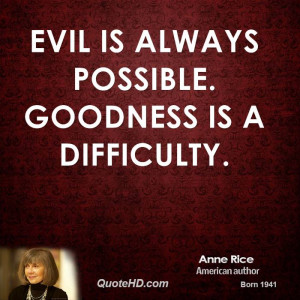 Anne Rice Death Quotes Quotehd