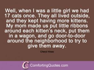 Cheryl Hines Quotes