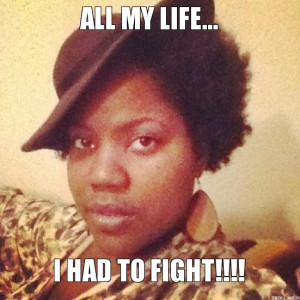 All My Life I Had to Fight Meme