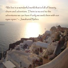 Travel Quotes & Inspiration