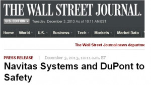 wall street journal press release