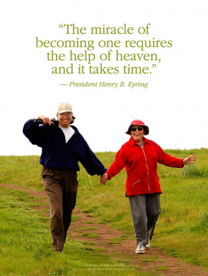 LDS Quote. President Henry B. Eyring encourages us to have happy ...