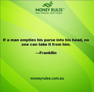 Money Quote of the Day via http://moneyrules.com.au/