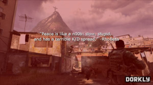 If Call of Duty Death Quotes Were Written by Call of Duty Players