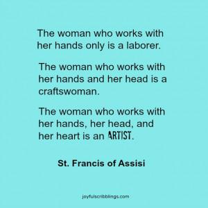 saint francis of assisi a life of joy saint francis crafts