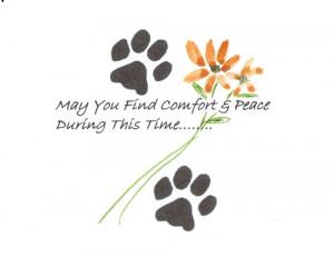 Pet Sympathy Ecard For...