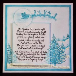 +Image+stamps+-+Christmas+Eve+Poem+-+Sleigh+Silhouette+-+Christmas ...