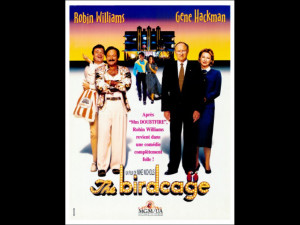 The Birdcage Brazilian Movie Poster 1996