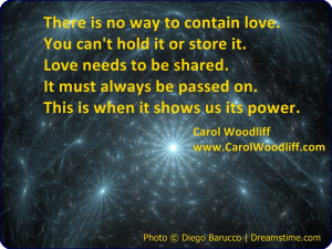 Love Cannot Be Contained Quote