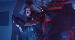 Husdon in Aliens could pass for your average Marine Lance Coporal ...
