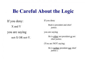 Logic Lesson from Aristotle Lecture