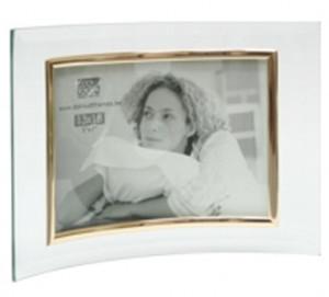 cadre photo galb horizontal en verre cadre photo poser en verre