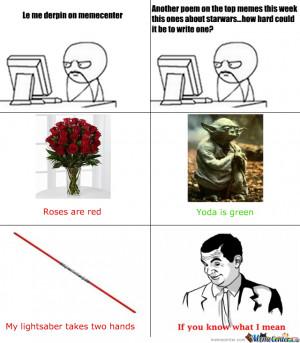 Star Wars Poem
