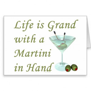 cocktail_humour_life_is_grand_with_martini_in_hand_card ...