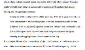 Beginning an essay with a quotation in MLA format?
