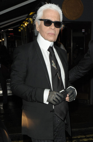 Karl Lagerfeld on anorexia in the fashion industry: 'Nobody works ...