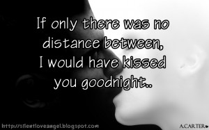 Pictures Gallery of distance love quotes