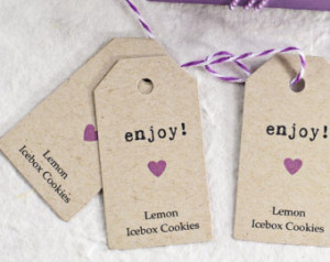 Favor Tags - Personalized G ift Tags - Thank You Tags - Bridal Shower ...