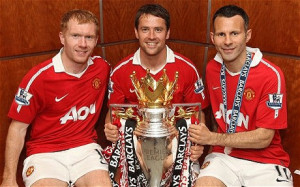Just champion: Michael Owen (centre) says it's important to play for ...
