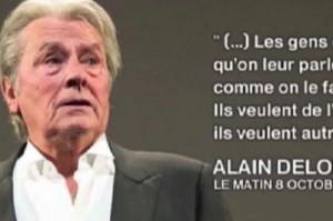 Pour Alain Delon France...