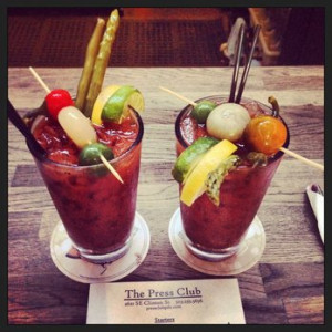 Happy hour Bloody Mary sure to please bloody connoisseurs Portland ...