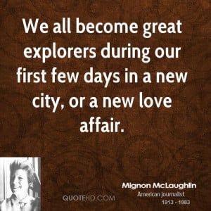 Mignon McLaughlin Love Quotes