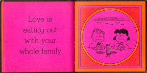 Love Is Walking Hand In Hand: The Peanuts Gang Defines Love, 1965