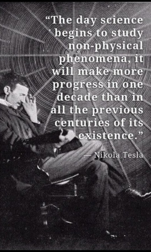 ... day science begins to study non-physical phenomena...
