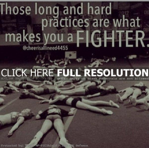 Inspirational Cheerleading Quotes Sayings