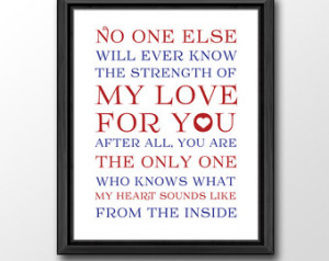 , baby nursery quotes, no one will ever know nursery wall quote, baby ...