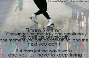 skating figure skating inspiration motivation quote woofystuff likes ...