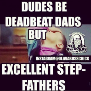 Deadbeat Dad Quotes for Facebook